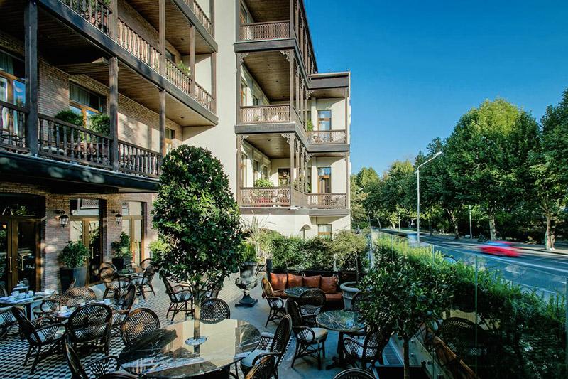 هتل موزه اوربلیانی از بهترین هتل های 4 ستاره تفلیس گرجستان