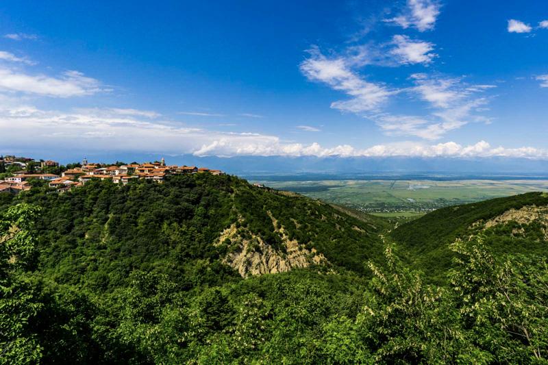 شهر سیقناقی گرجستان