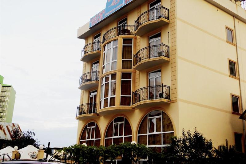 هتل اوراسیا باتومی در گرجستان از بهترین هتل های 3 ستاره باتومی گرجستان