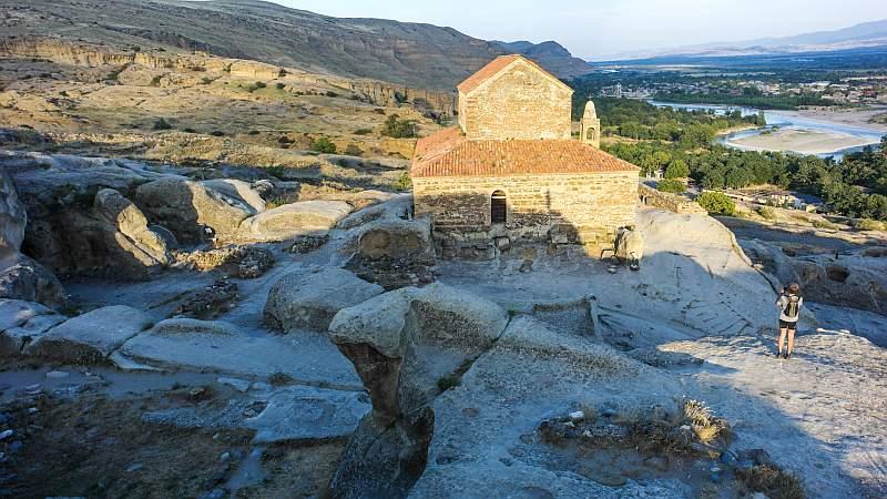 شهر سنگی اوپلیستسیخه از جاذبه های گردشگری گرجستان