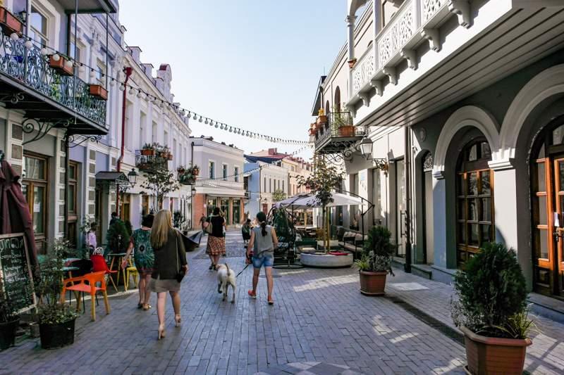خیابان آقماشنبلی از خیابان های معروف در تفلیس