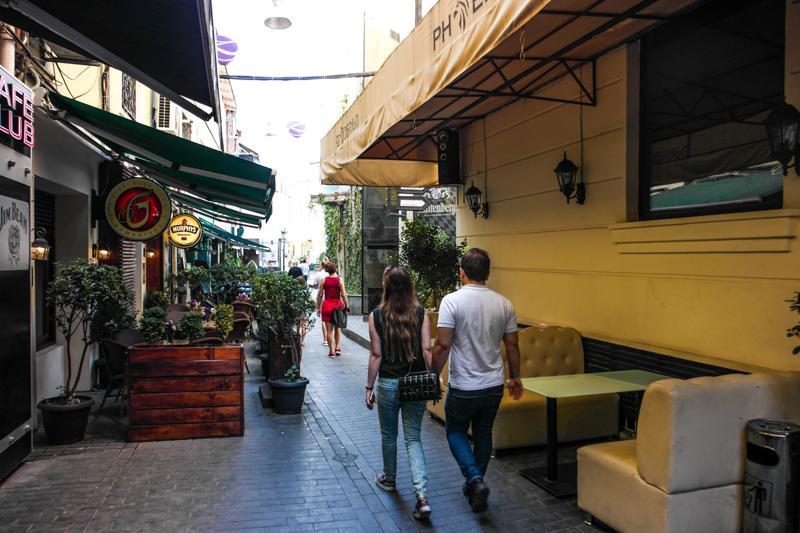 خیابان شاردنی تفلیس گرجستان از خیابان های معروف تفلیس