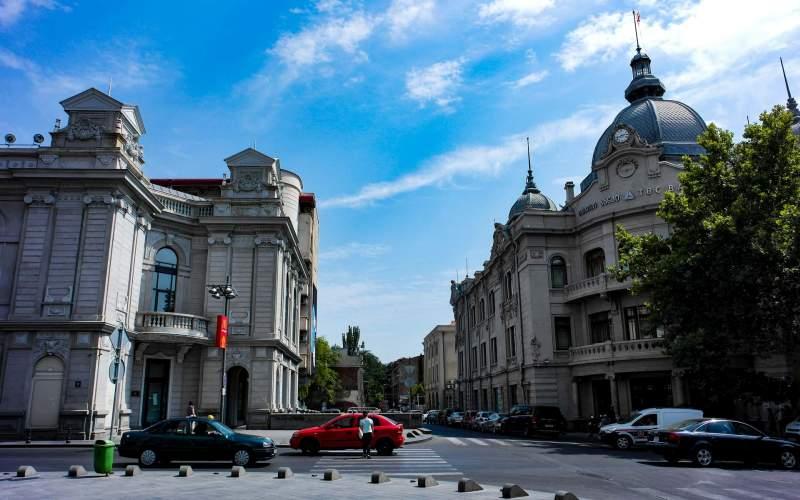 خیابان مرجان ایشویلی از خیابان های معروف در تفلیس