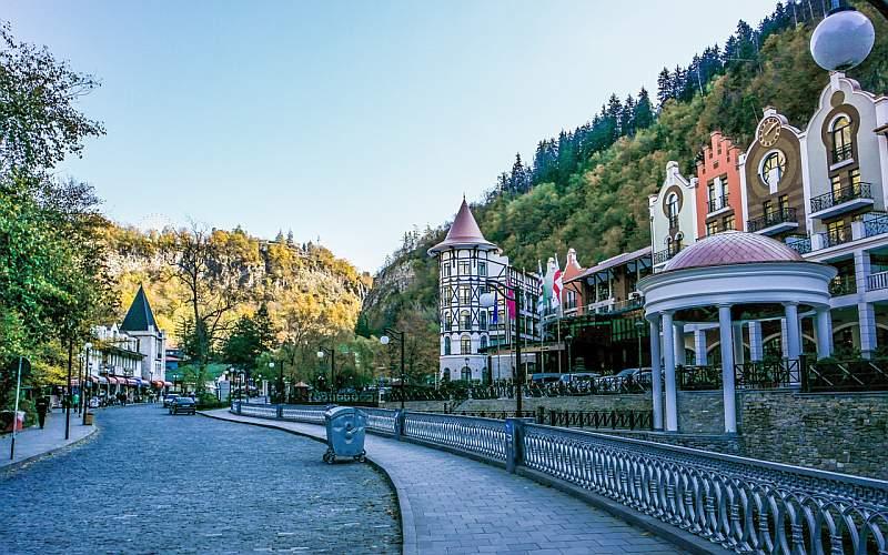 شهر برجومی از جاذبه های گردشگری گرجستان
