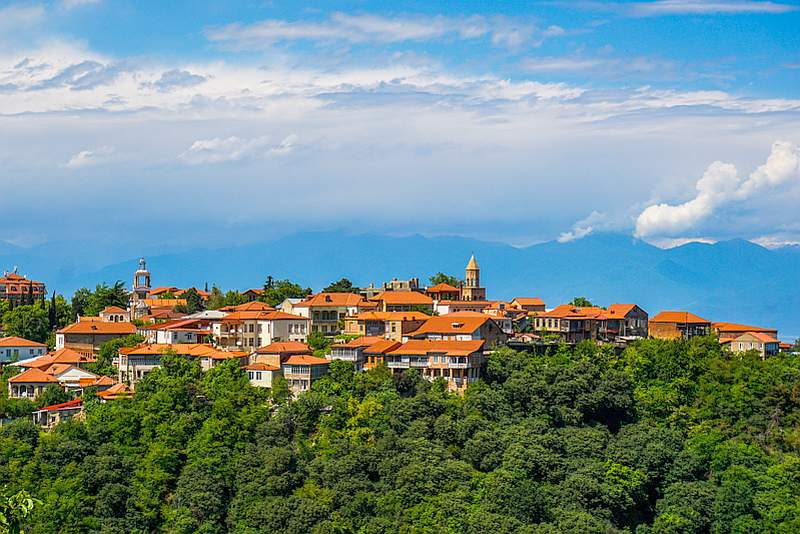شهر سیقناقی از جاذبه های گردشگری گرجستان