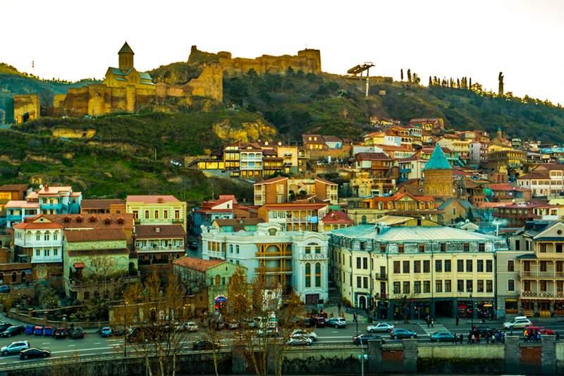 نارین قلعه تفلیس گرجستان - قلعه ناریکالا تفلیس گرجستان