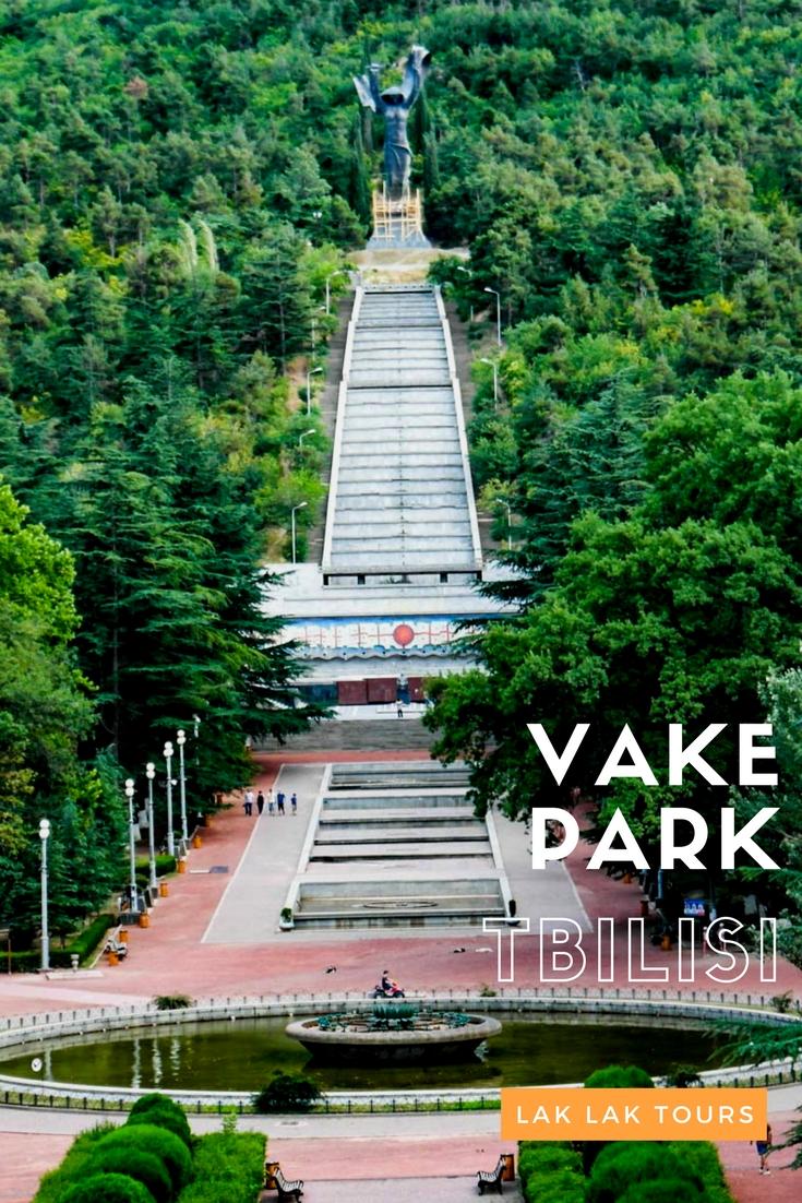 پارک واکه تفلیس از معروف ترین پارک های تفلیس