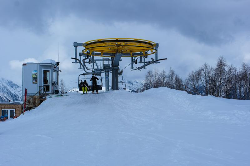 پیست های اسکی در گرجستان - پیست اسکی مستیا