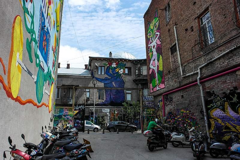 خیابان مرجانیشویلی تفلیس