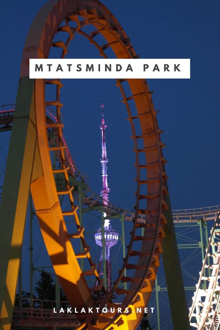پارک متاتسمیندا تفلیس از معروف ترین پارک های تفلیس