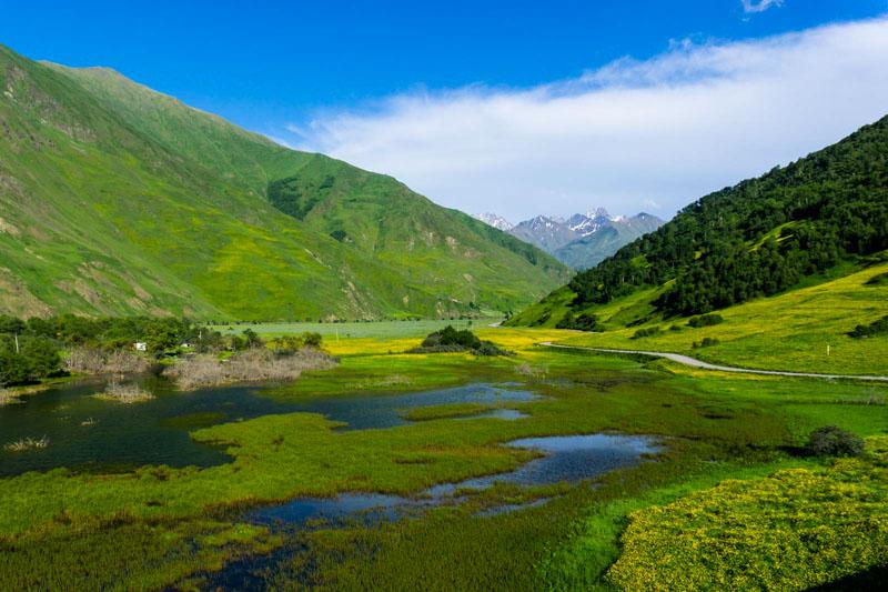 دانستنی های گرجستان - طبیعت گردی در دره اسنو