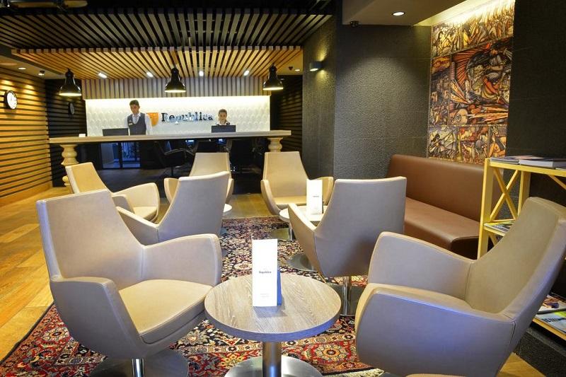 هتل ریپابلیکا ایروان از بهترین هتل های 5 ستاره ایروان ارمنستان