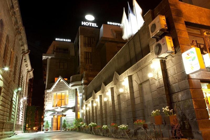 هتل آویا ترنس ایروان از بهترین هتل های 5 ستاره ایروان ارمنستان