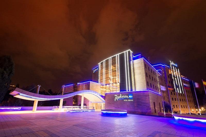 هتل رادیسون بلو از بهترین هتل های 5 ستاره ایروان ارمنستان