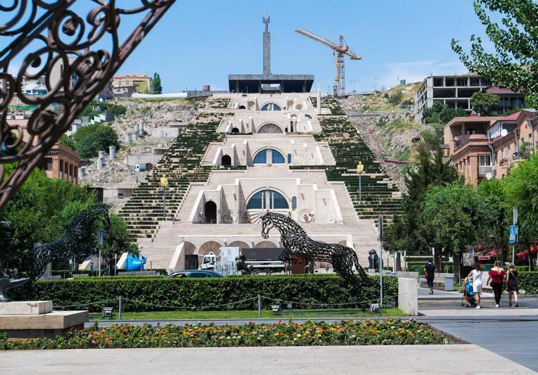 جاذبه های گردشگری ایروان پایتخت ارمنستان