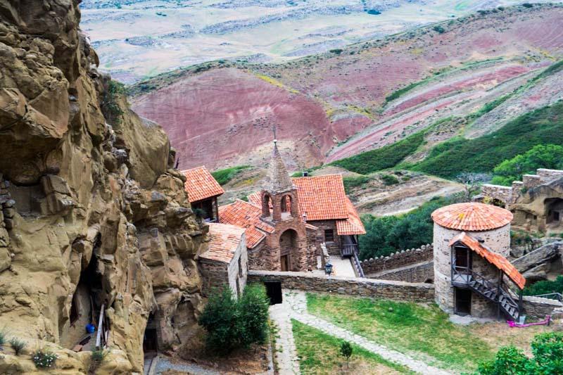 آشنایی با شهرهای گرجستان -دانستنی های گرجستان - آشنایی با صومعه های داوید گارجا در گرجستان